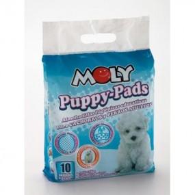 MOLY PUPPY PADS PEQ. 60X60 CM. 10 PCS.