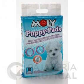 MOLY PUPPY PADS GRD. 60X90 CM. 10 PCS.