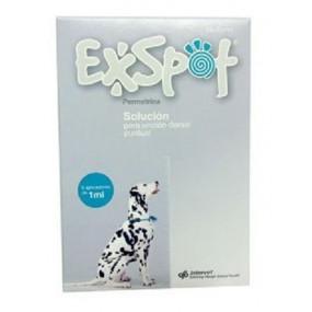 EXSPOT 1 ML- HASTA 15 KG (6 PIPETAS)