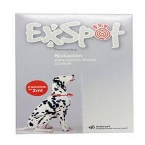 EXSPOT 2 ML- MAS DE 15 KG (6 PIPETAS)