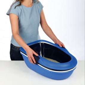 Bandeja Higiénica Berto, Azul-Azul Osc-bl