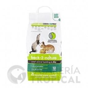 Back 2 Nature Pellets de Celulosa (10 litros)