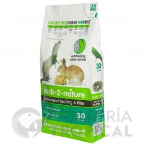 Back 2 Nature Pellets de Celulosa (30 litros)