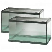 Acuario Cristal 6 Lts (Marco Plastico) 2Unidades