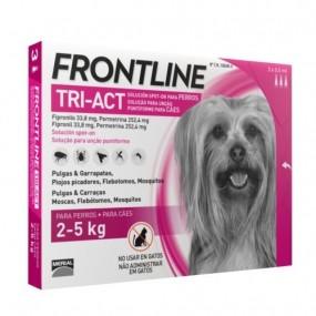 FRONTLINE TRI-ACT DE 2-5 KG (6 PIPETAS)