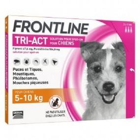 FRONTLINE TRI-ACT DE 5-10 KG (3 PIPETAS)
