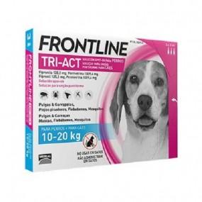 FRONTLINE TRI-ACT DE 10-20 KG (3 PIPETAS)