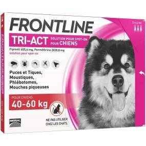 FRONTLINE TRI-ACT DE 40-60 KG (3 PIPETAS)