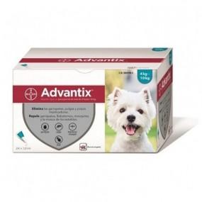 ADVANTIX TRIPLE PROTECCION 4-10 KG (4 PIPETAS)